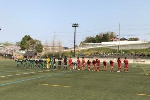 U-15県リーグ第8節