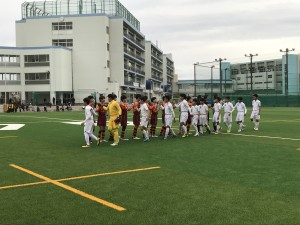 U-15県リーグ第9節