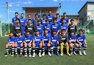 U-15県リーグ第21節