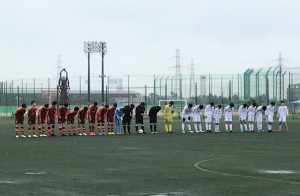 U-14リーグシード決定トーナメント1回戦
