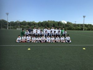 U-15クラブユース選手権決勝トーナメント1回戦